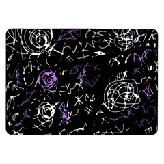 Abstract Mind   Purple Samsung Galaxy Tab 8 9  P7300 Flip Case by Valentinaart