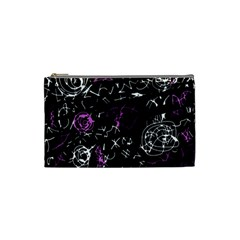 Abstract mind - magenta Cosmetic Bag (Small)