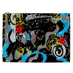 Confusion 2 Cosmetic Bag (xxl)  by Valentinaart