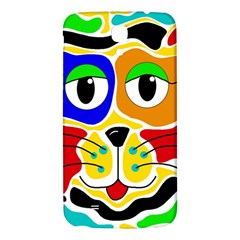 Colorful Cat Samsung Galaxy Mega I9200 Hardshell Back Case by Valentinaart