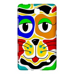 Colorful Cat Samsung Galaxy Tab 4 (8 ) Hardshell Case  by Valentinaart