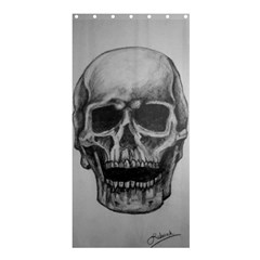 Skull Shower Curtain 36  X 72  (stall)  by ArtByThree