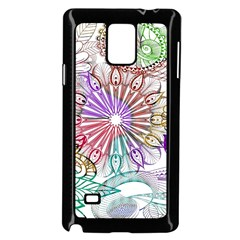 Zentangle Mix 1116b Samsung Galaxy Note 4 Case (black)