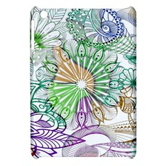Zentangle Mix 1116c Apple Ipad Mini Hardshell Case by MoreColorsinLife