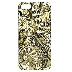 Zentangle Mix 1216a Apple Iphone 5 Hardshell Case With Stand by MoreColorsinLife