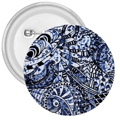 Zentangle Mix 1216b 3  Buttons by MoreColorsinLife