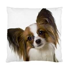 Papillon Standard Cushion Case (One Side) by TailWags