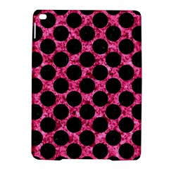 Circles2 Black Marble & Pink Marble (r) Apple Ipad Air 2 Hardshell Case by trendistuff