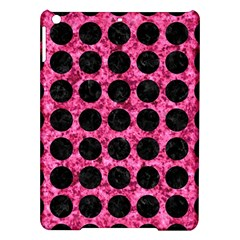 Circles1 Black Marble & Pink Marble (r) Apple Ipad Air Hardshell Case by trendistuff