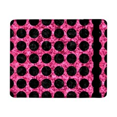 Circles1 Black Marble & Pink Marble (r) Samsung Galaxy Tab Pro 8 4  Flip Case by trendistuff