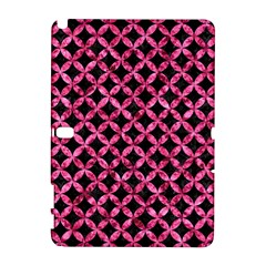 Circles3 Black Marble & Pink Marble Samsung Galaxy Note 10 1 (p600) Hardshell Case by trendistuff