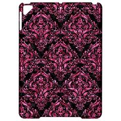 Damask1 Black Marble & Pink Marble Apple Ipad Pro 9 7   Hardshell Case