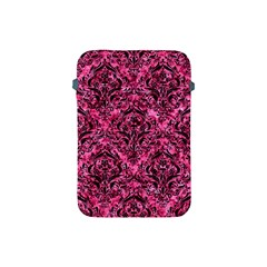 Damask1 Black Marble & Pink Marble (r) Apple Ipad Mini Protective Soft Case by trendistuff