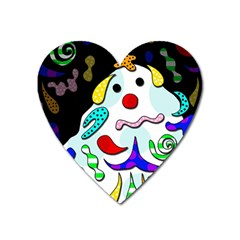 Candy Man` Heart Magnet by Valentinaart