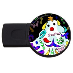 Candy Man` Usb Flash Drive Round (2 Gb)  by Valentinaart