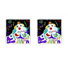 Candy Man` Cufflinks (square) by Valentinaart