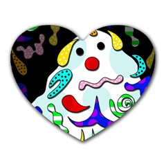 Candy Man` Heart Mousepads by Valentinaart