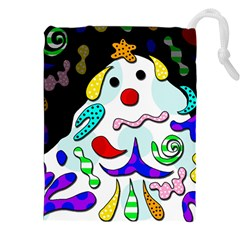 Candy Man` Drawstring Pouches (xxl) by Valentinaart