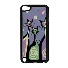 Cats Apple Ipod Touch 5 Case (black) by Valentinaart