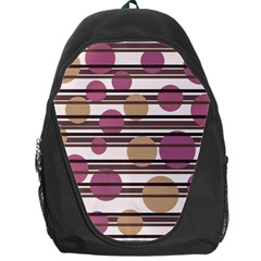 Simple Decorative Pattern Backpack Bag by Valentinaart