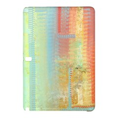 Unique Abstract In Green, Blue, Orange, Gold Samsung Galaxy Tab Pro 12 2 Hardshell Case by digitaldivadesigns