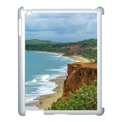 Aerial Seascape Scene Pipa Brazil Apple Ipad 3/4 Case (white) by dflcprints