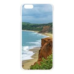 Aerial Seascape Scene Pipa Brazil Apple Seamless iPhone 6 Plus/6S Plus Case (Transparent) by dflcprints