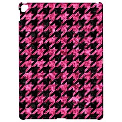 Houndstooth1 Black Marble & Pink Marble Apple Ipad Pro 12 9   Hardshell Case