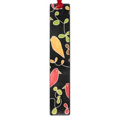 Flowers And Birds  Large Book Marks by Valentinaart