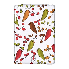 Birds And Flowers 3 Apple Ipad Mini Hardshell Case (compatible With Smart Cover) by Valentinaart