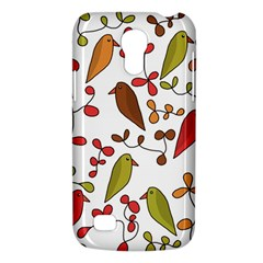 Birds And Flowers 3 Galaxy S4 Mini by Valentinaart