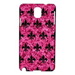 Royal1 Black Marble & Pink Marble Samsung Galaxy Note 3 N9005 Hardshell Case by trendistuff