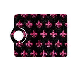 Royal1 Black Marble & Pink Marble (r) Kindle Fire Hd (2013) Flip 360 Case by trendistuff