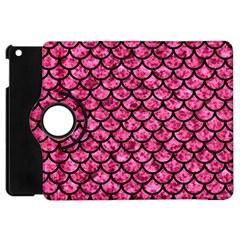 Scales1 Black Marble & Pink Marble (r) Apple Ipad Mini Flip 360 Case by trendistuff