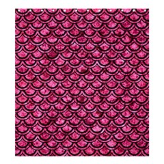 Scales2 Black Marble & Pink Marble (r) Shower Curtain 66  X 72  (large) by trendistuff