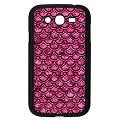 Scales2 Black Marble & Pink Marble (r) Samsung Galaxy Grand Duos I9082 Case (black) by trendistuff