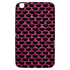 Scales3 Black Marble & Pink Marble Samsung Galaxy Tab 3 (8 ) T3100 Hardshell Case
