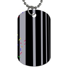 Harmony Dog Tag (two Sides) by Moma