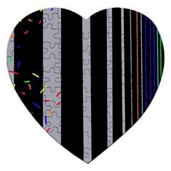 Harmony Jigsaw Puzzle (heart) by Moma