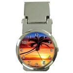 sunset Money Clip Watch