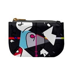 Abstract Bird Mini Coin Purses by Moma