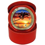 sunset Jewelry Case Clock