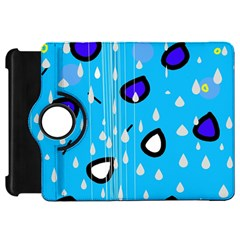 Rainy Day   Blue Kindle Fire Hd 7  by Moma