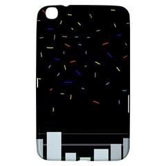 Night Samsung Galaxy Tab 3 (8 ) T3100 Hardshell Case  by Moma