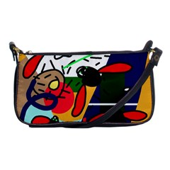 Fly, Fly Shoulder Clutch Bags by Moma