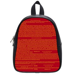 Writing Grace School Bags (small)  by MRTACPANS