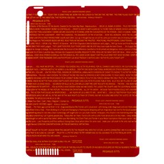 Writing Grace Apple Ipad 3/4 Hardshell Case (compatible With Smart Cover) by MRTACPANS