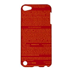 Writing Grace Apple Ipod Touch 5 Hardshell Case by MRTACPANS