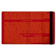 Writing Grace Apple Ipad 2 Flip Case by MRTACPANS