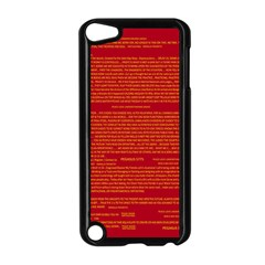 Writing Grace Apple Ipod Touch 5 Case (black) by MRTACPANS